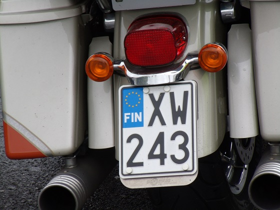 finland license plate