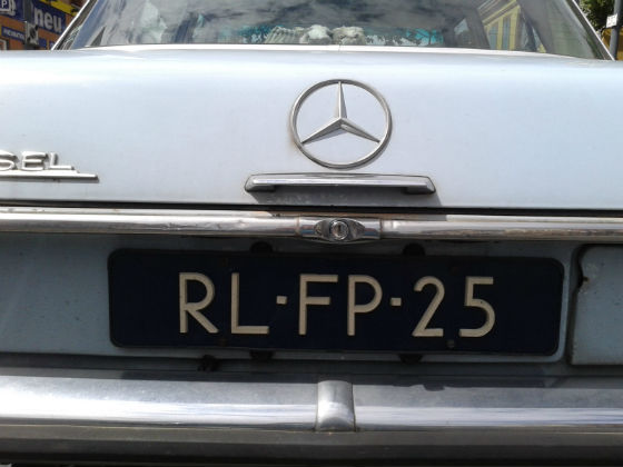 netherlands license plate