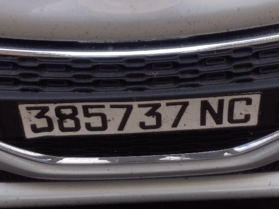 new caledonia license plate