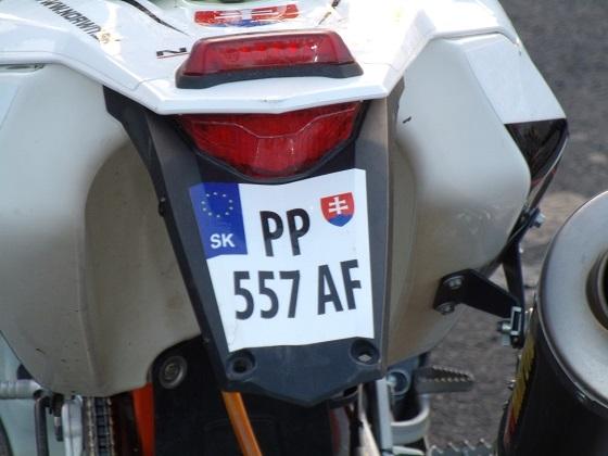 slovakia license plate