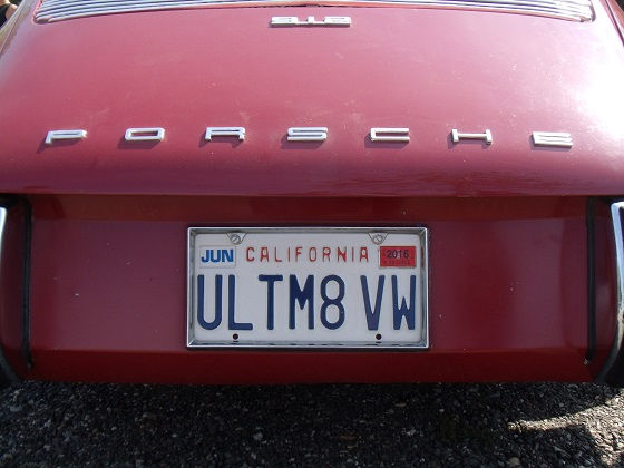 united states california license plate