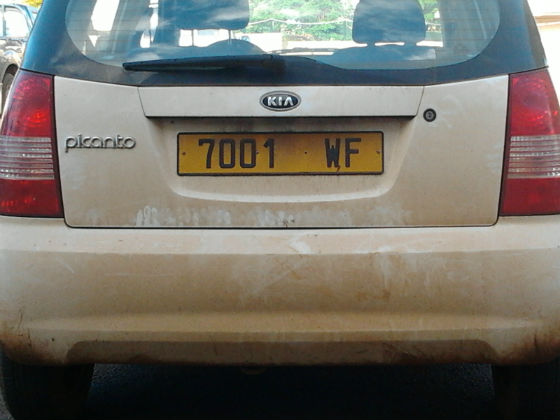 wallis and futuna licence plate